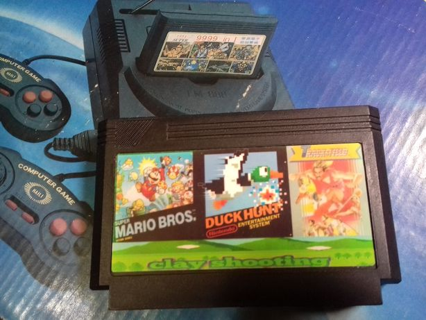 Картридж 8 бит Super Mario Duck Hunt Dendy Nintendo NES Famicom Денди