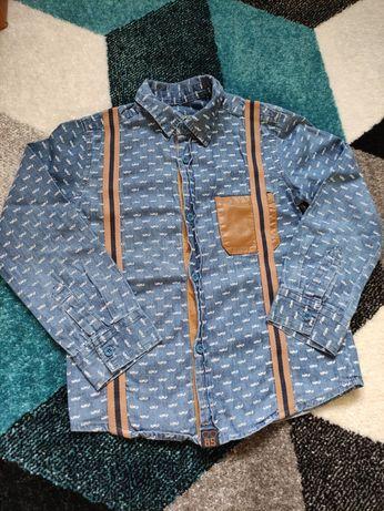 Śliczna koszula  dla chłopca 110/116
