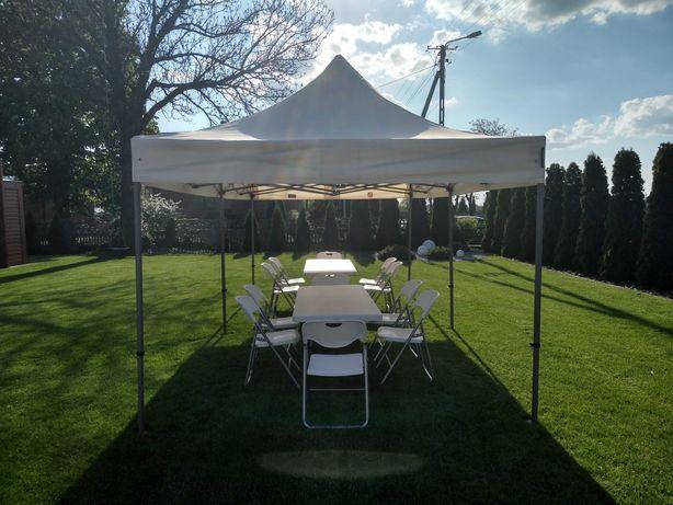 namiot plenerowy , imprezowy ,  ,stoły krzesła , akcesoria do zabawy