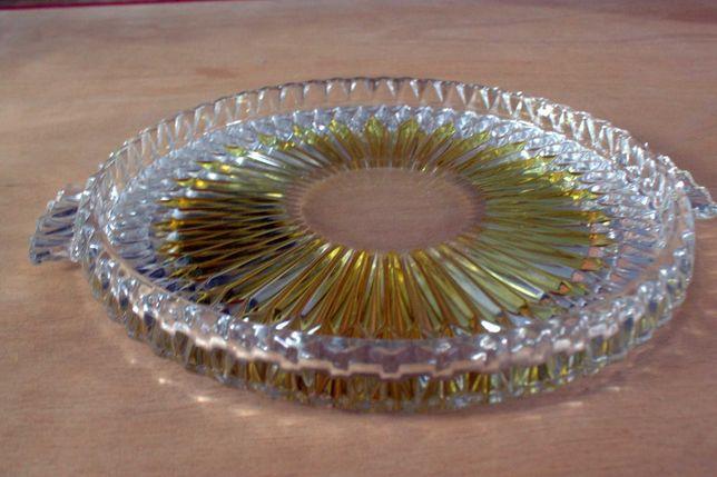 szklana patera - tortownica