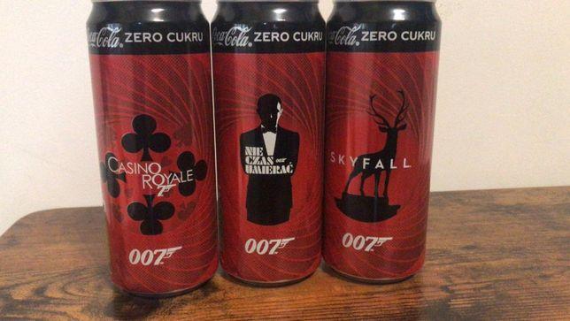 Legendarne puszki coli 007 James Bond