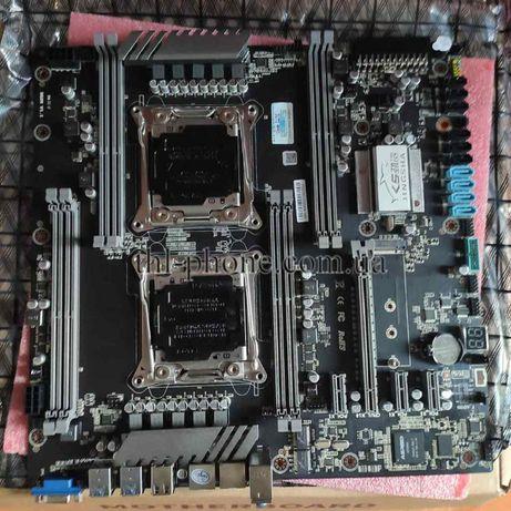 Intel 2* Xeon e5 2678 V3 44 60M JINGSHA X99-DUAL-D8 NVME M.2 SSD