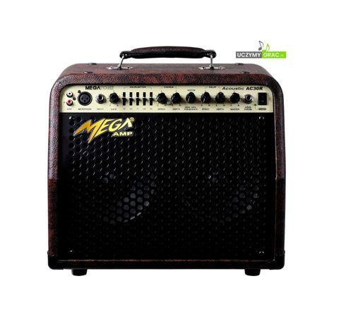 Wzmacniacz akustyczny 30W MEGA AMP AC-30R piec kombo OKAZJA !!!