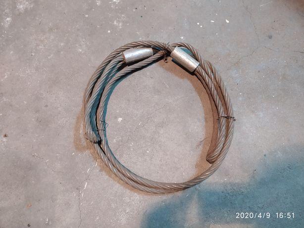 Lina stalowa zakuta 1.5mm długość 3.3m