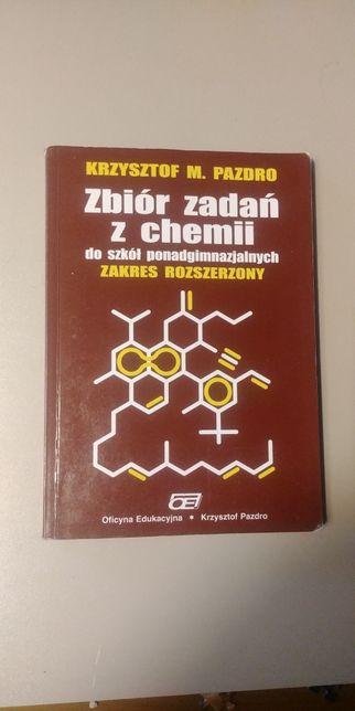 Zbiór zadań z chemii zakres rozszerzony liceum Krzysztof Pazdro