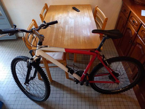 Bicicleta BTT Kit mudanças SHIMANO Travões V-BRAKE