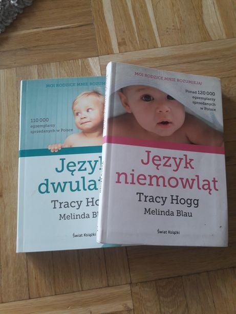 """Tracy Hogg komplet książek """"Język niemowląt"""" i """" Język dwulatka"""""""