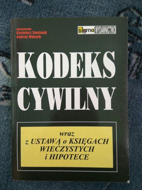 Kodeks cywilny z ustawą o księgach wieczystych hipotece Smolarek 2000