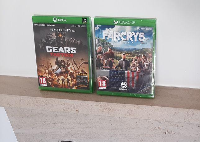 Xbox - Gears Tactics - Far Cry 5 (Novo e Selado)