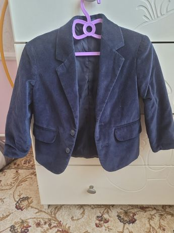 Піджак для хлопчика вельветовий піджак на 1.5 роки