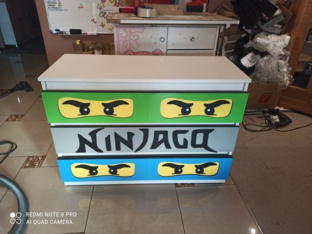 Komoda dla dziecka chłopca Lego Ninjago 100cm RATY