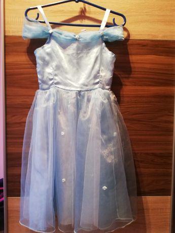 Wizytowo-karnawałowa ( elegancka) sukienka