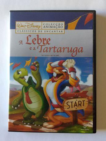 A Lebre e a Tartaruga DVD Disney