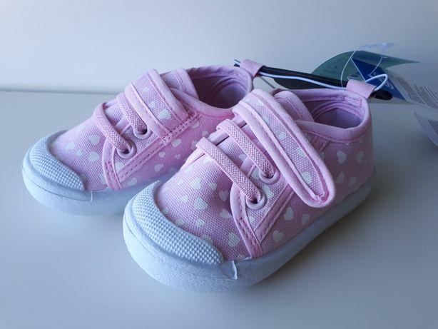 TENISÓWKI dziecięce, buciki dla dziewczynki PEPCO r. 20 różowe NOWE!