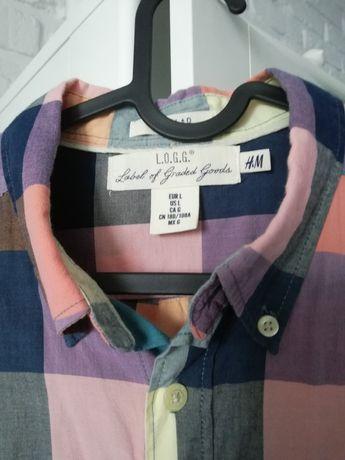 Męskie koszule H&M koszula koszula