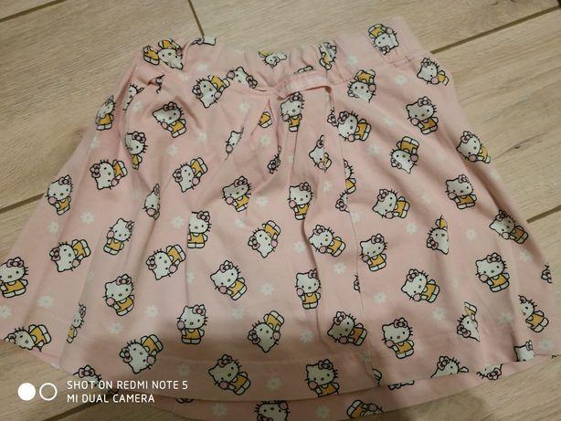 Spódnica różowa hello kitty. 4-5 lat.