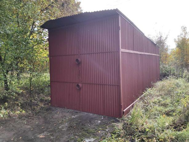 Garaż blaszak 3x8 (wysoki 2,95 m) do przyczepy kempingowej