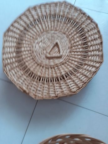 Conjunto de 4 cestas de verga