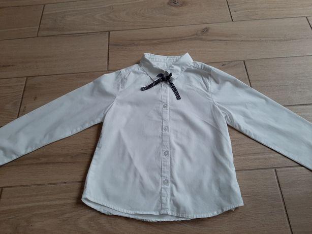 Cool club Smyk R. 116 122 i 128 białe koszule . Stan jak nowy.