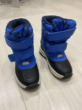 Ботинки лупилу на тоненьком утеплителе