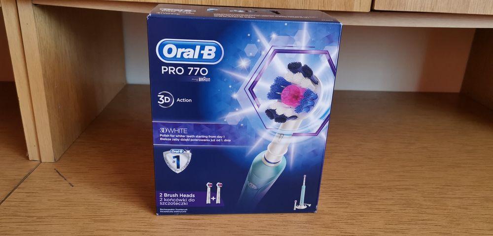 Nowa szczoteczka do zębów Oral B Pro 770 Wiązownica - image 1