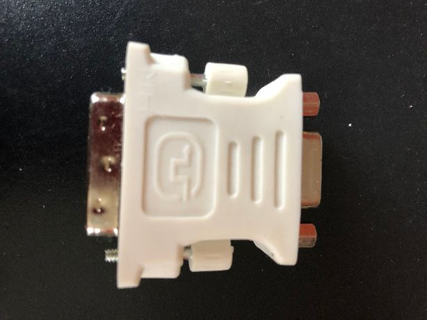 Adapter przejściówka DVI na VGA , złączka