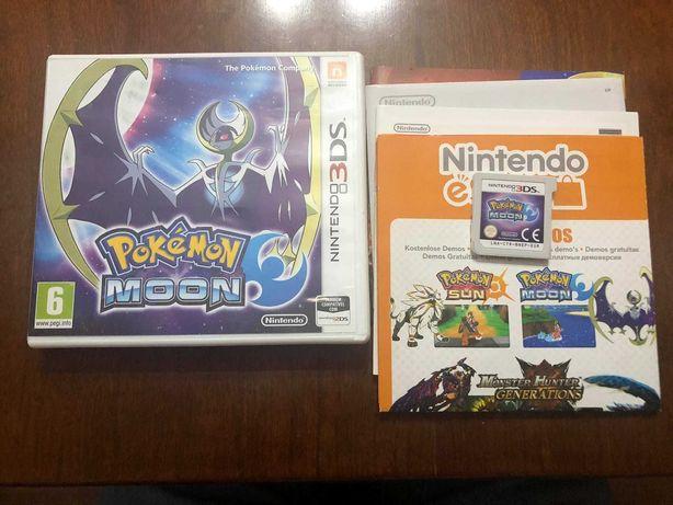 Pokemon Moon   Nintendo 3DS   Completo