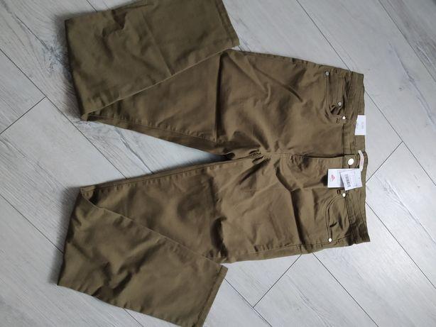 Nowe spodnie Camaieu khaki 46