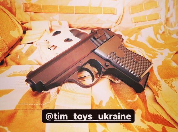 Страйкбольный пистолет Walter PPK/S AirSoft Спринговый