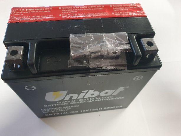 Akumulator Unibat AGM CBTX14L-BS YTX14L-BS ETX14L-BS 12Ah 200A 12V NOW
