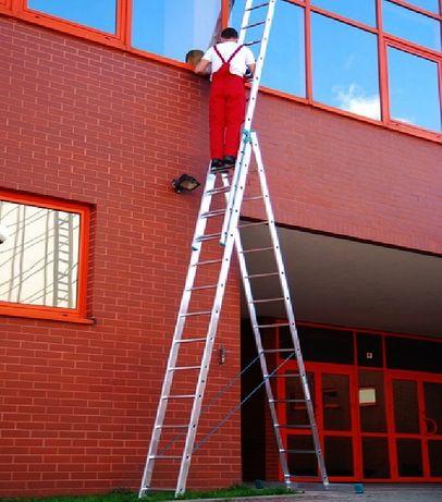 Лестница алюминиевая Розкладна 7.1 м драбина Стремянка