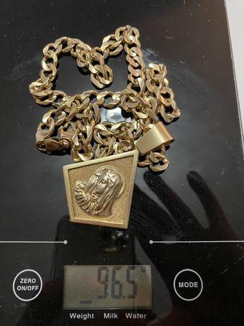 Złoty Łańcuszek 96 gram 585Próba 14 Karat