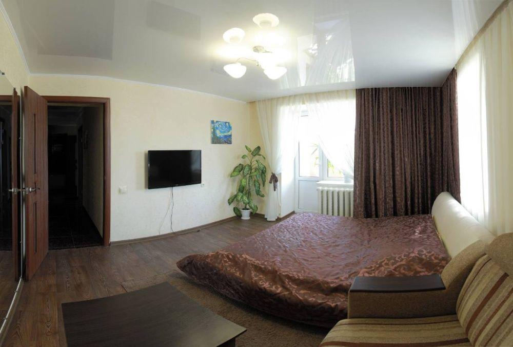 Посуточно квартира на Соборной с 2 отдельными спальнями.
