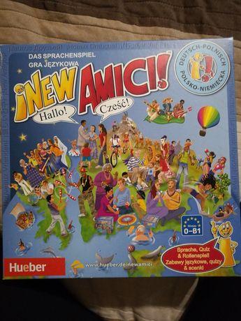 Gra językowa polsko- niemiecka NEW AMICI! Hueber
