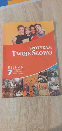 SPOTYKAM TWOJE SŁOWO 7 - podręcznik do 7 klasy z religii