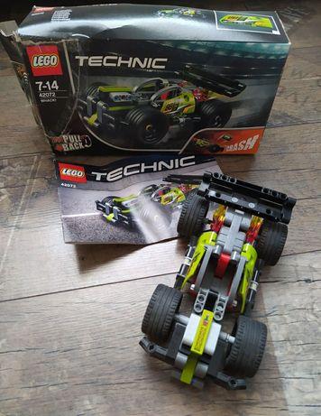 Lego technic wyścigówka 42072