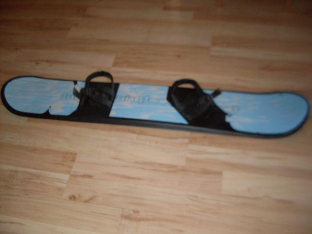 Deska z UK snowboard z wiązaniami 130 cm