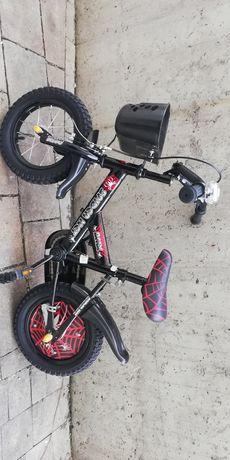 Rower 12 cali NOWY + kask + kółka boczne spakowany możliwa wysyłka