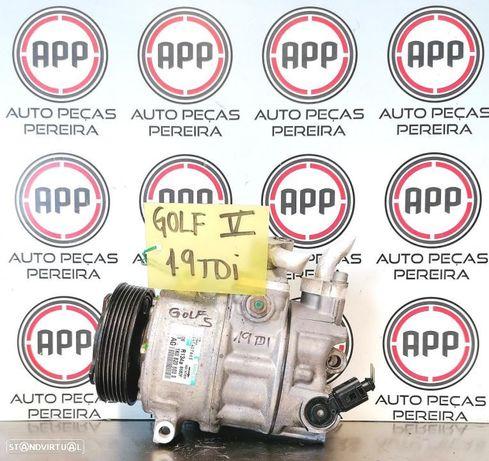 Compressor ar condicionado VW Golf 5, Audi A3 8P, Leon 1P, Skoda Octavia, Jetta, Passat 3C, 1.9 TDI, 2.0 TDI