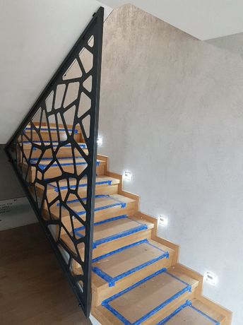 Balustrada - panel ażurowy - wycinanka laserowa