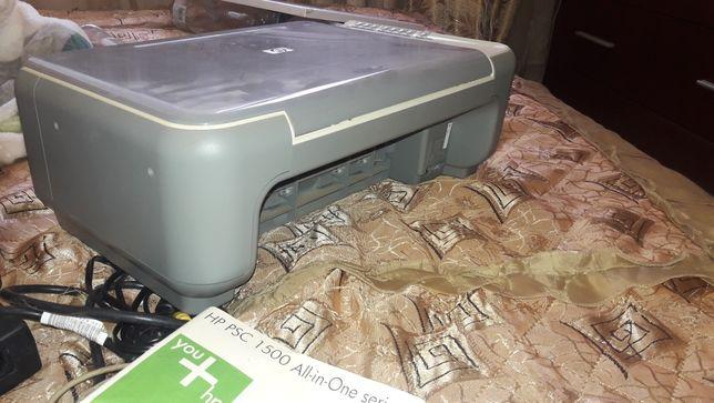Принтер hp psc 1500