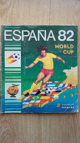 Cromos panini mundial espanha 82