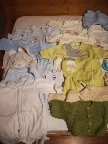 Roupa bebé 0-3 meses