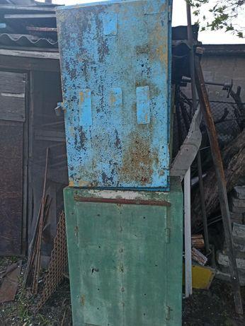Железный ящик, шкаф, сейф, металлический под насос, баллон