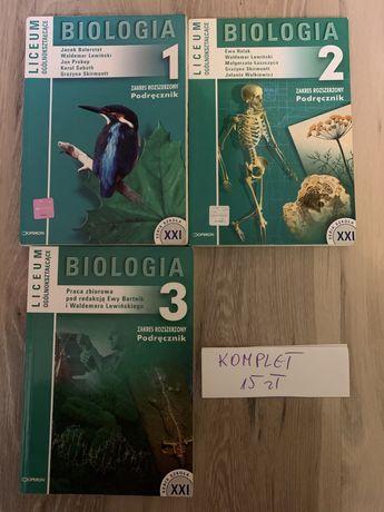 Biologia zbiór zadań Omega; Trener; Vademecum; Biologia na czasie