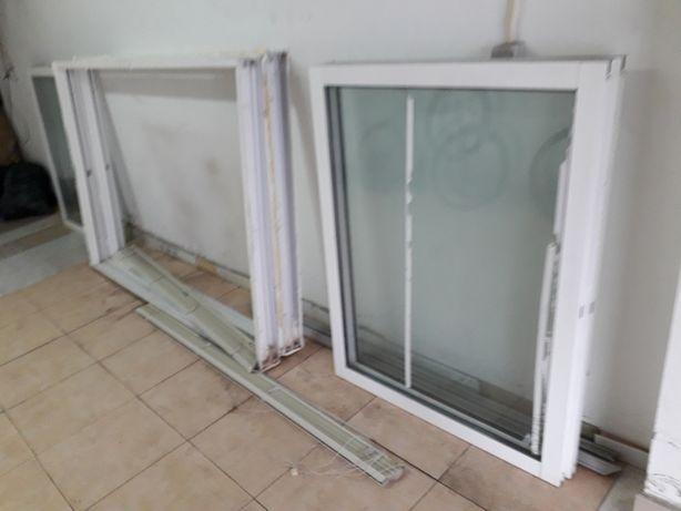 Janela de alumínio de vidro duplo CLIMALIT