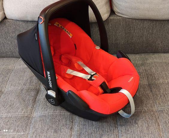 Pebble Maxi Cosi nosidełko foteliki samochodowy 0-13 kg testy ADAC