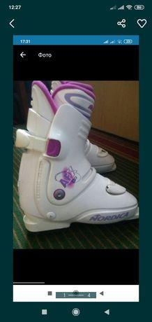Лыжные ботинки Nordica