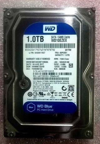 HDD жорсткий диск WD 1 тб 3.5'' 7200 rpm