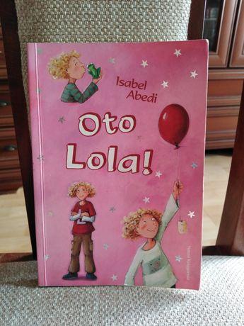 Książka dla dzieci 8 + Oto Lola